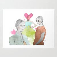 Fashion Week Art Print
