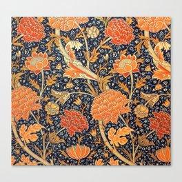 William Morris Cray Floral Art Nouveau Pattern Canvas Print