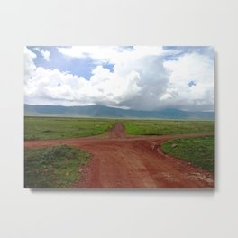 Ngorongoro Crater Metal Print