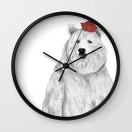 Oso Padre Wall Clock