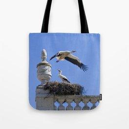 Faro storks Tote Bag