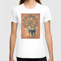 gears of war T-shirts featuring Steampunk Gears by Perri MacKenzie