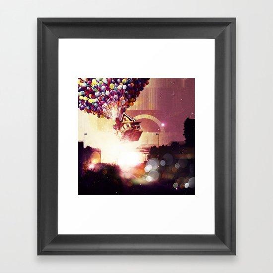 |UP| Framed Art Print