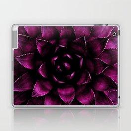 Deep Magenta Succulent Laptop & iPad Skin