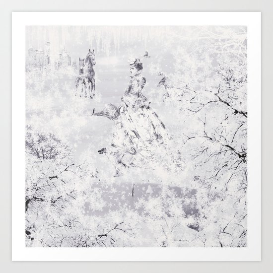 The Frozen Kingdom Art Print