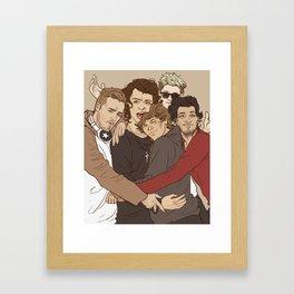 """ Cheese! "" Framed Art Print"