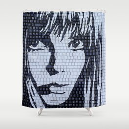 Not my Type Shower Curtain