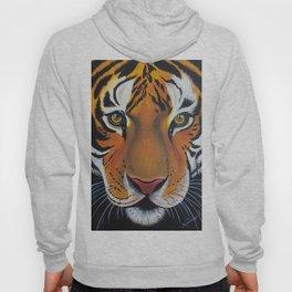 Tiger, acrylic on canvas Hoody