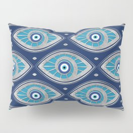 Greek Mati Mataki - Matiasma Evil Eye Pattern #4 Pillow Sham
