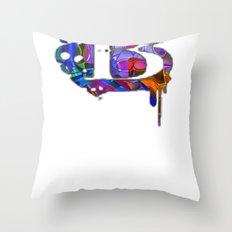 B beta Throw Pillow