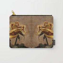 the last autumn rose  Carry-All Pouch