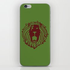 The Lion's Sin of Pride iPhone & iPod Skin