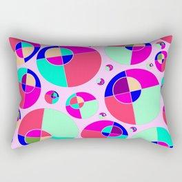 Bubble pink Rectangular Pillow