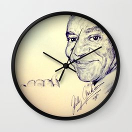 Who Ate All The Pudding? Wall Clock