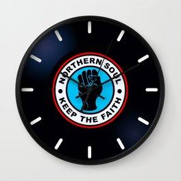 Northern Soul Vinyl Wall Clock