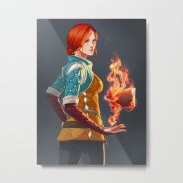 Witcher 3: Triss Metal Print
