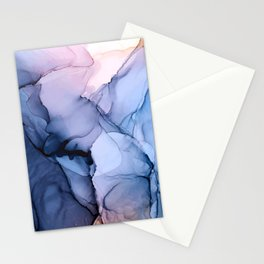 Captivating 1 - Alcohol Ink Painting Stationery Cards
