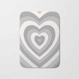 Off Color Heartbeat Bath Mat