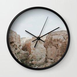 Soft Desert Canyonscape Wall Clock