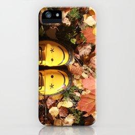 Autumn Smile iPhone Case
