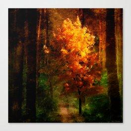 The Autumn Tree Canvas Print