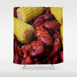 Crawfish Boil Shower Curtain