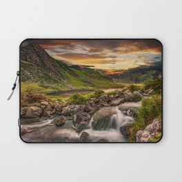 Tryfan and Llyn Ogwen Snowdonia Laptop Sleeve