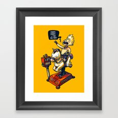 Mony Mony Framed Art Print