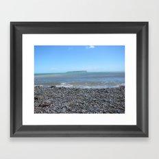 Summers Pebble Beach Framed Art Print
