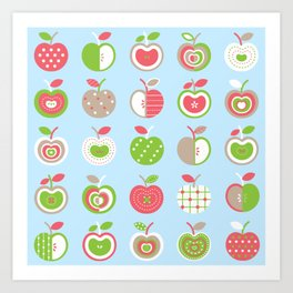 Applelicious Art Print