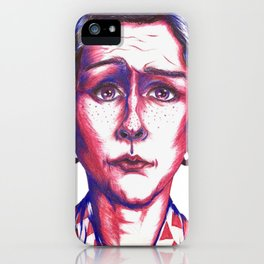Confused iPhone Case