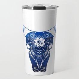 Blooming Buffalo Travel Mug