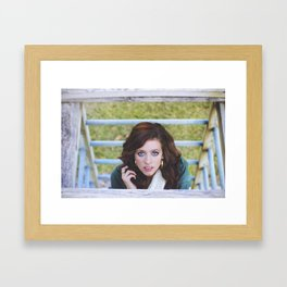 Kenna. Framed Art Print