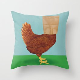 Don't Eat Anything With A Face Throw Pillow