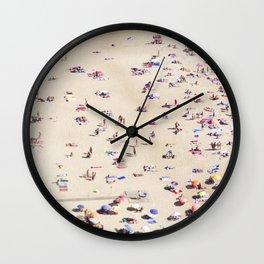 Beach Love VI Wall Clock