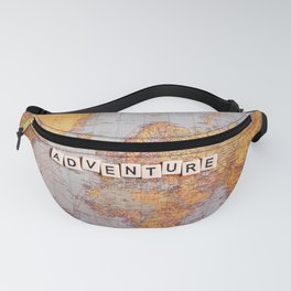 adventure map Fanny Pack