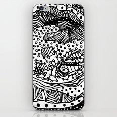 Full Moon Love - BW iPhone & iPod Skin