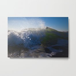 Breaking Tide Metal Print