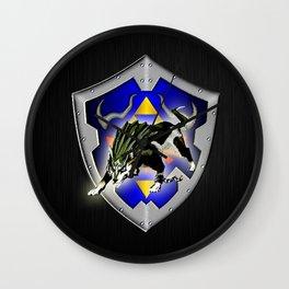 Zelda wolf Wall Clock