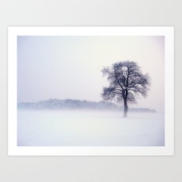 Winterzeit Art Print