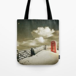 Winter in the Cotswolds, England Tote Bag