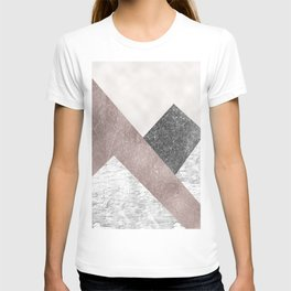 Rose grunge - mountains T-shirt