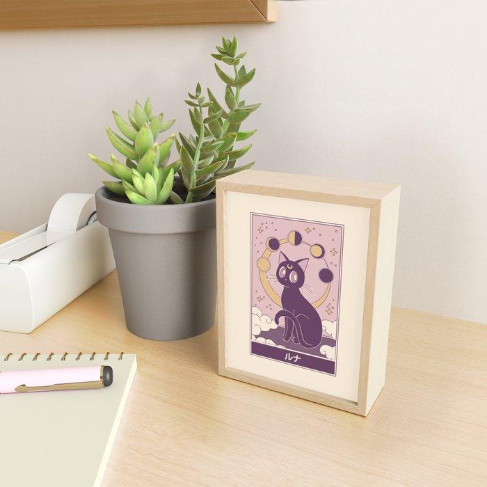 Luna Framed Mini Art Print