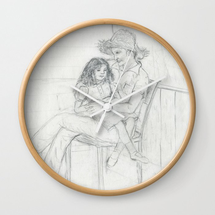Abuelo love Wall Clock