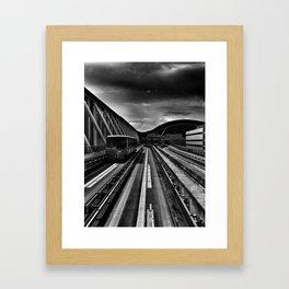 Trains Framed Art Print