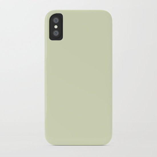 Greenish Grey iPhone Case