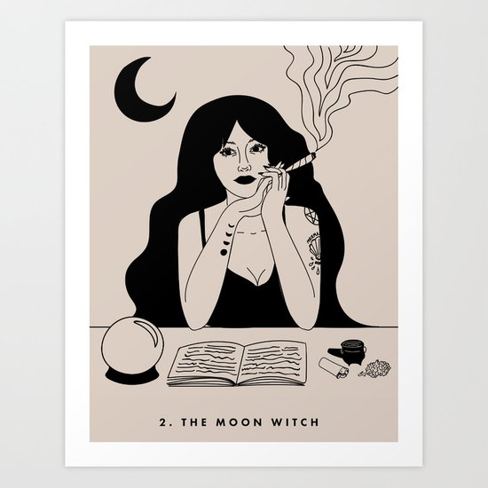 2. THE MOON WITCH (THE HIGH PRIESTESS) by deluxewitch