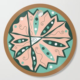 Dot #15 by lalalamonique Cutting Board