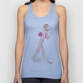 Blushed Bride Unisex Tank Top
