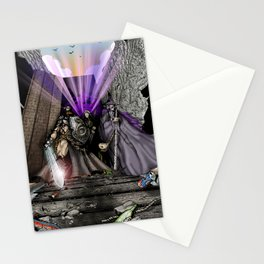 High-Noon at the Granite Horn Stationery Cards